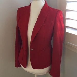 Red Zara Blazer